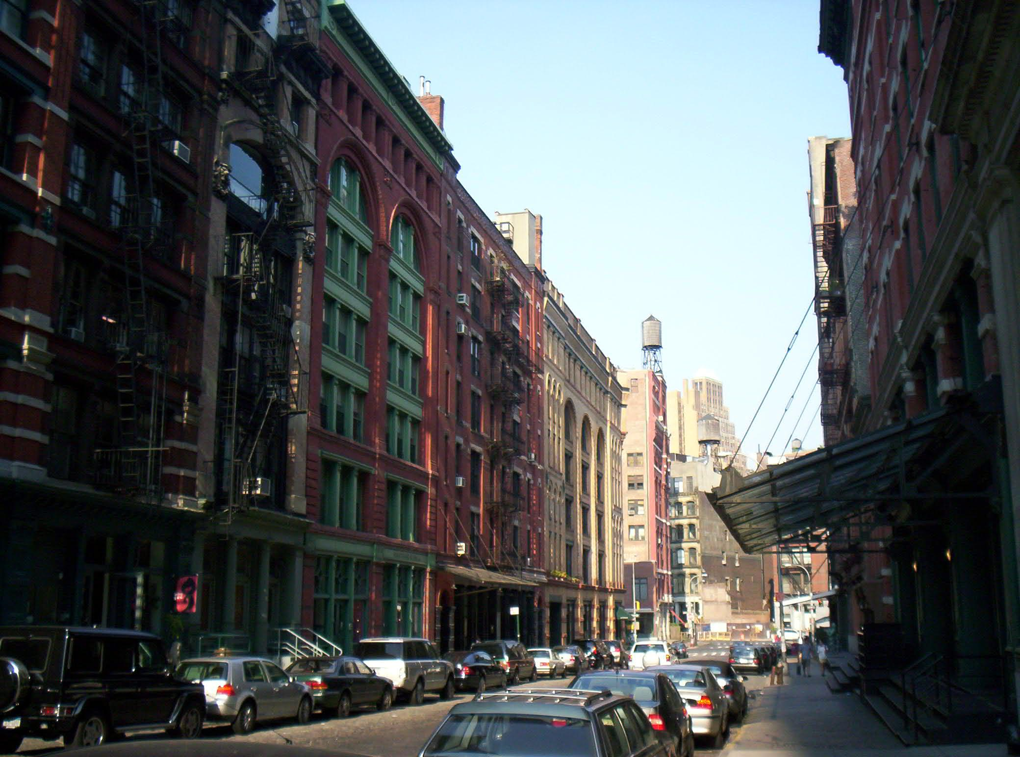 Browse all of new york city 39 s landmarks in one interactive for Real estate in tribeca