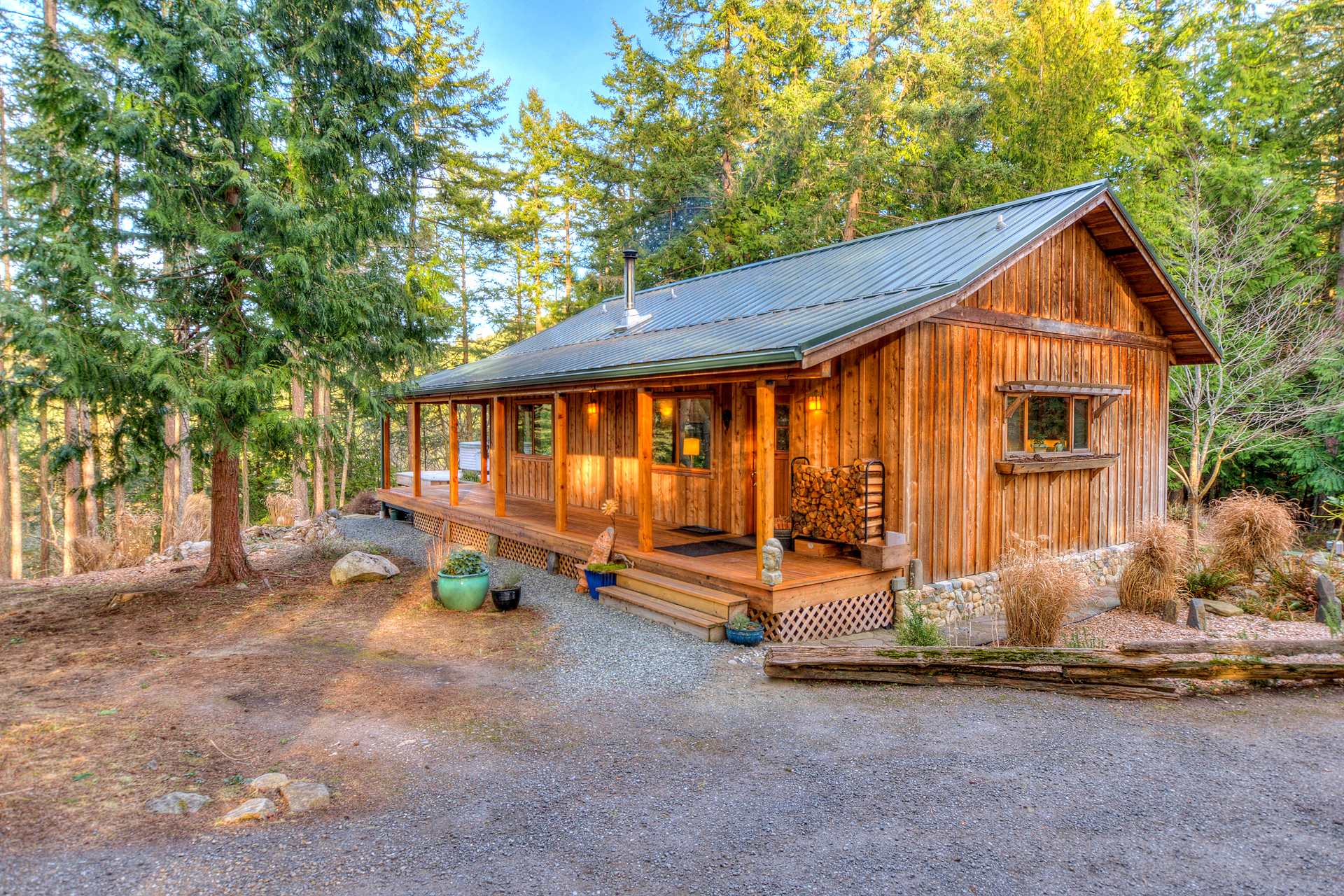 Photos Tiny House Seattle Wa: An Orcas Cabin And Yurt For The Perfect Island Lifestyle